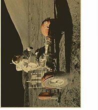 Yirenfeng Das Apollo 11 Mondlandungweinleseplakat