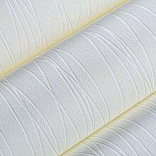Yirenfeng Einfache Farbe Tapete Gestreifte Tapete