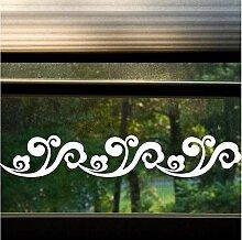 Yirenfeng Fensterdekoration Taillenlinie