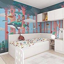 Yirenfeng Kinderzimmer Tapete Jungen Schlafzimmer