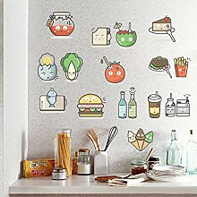 Yirenfeng Küche Kühlschrank Aufkleber Notebook