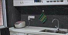 Yirenfeng Marmor Wasserdichte Tapete Küche