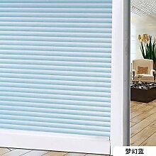 Yirenfeng Peepproof-Fensteraufkleber für den