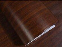 Yirenfeng Pvc-Tapete Tür Schrank Wasserdicht Holz