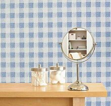 Yirenfeng Selbstklebende Tapete Für Wohnheim Blau