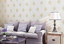 Yirenfeng Vliestapete Damaskus Schlafzimmer