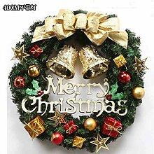 Yirenfeng Weihnachtsgirlande 40Cm Tür Hängende