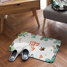 YISANLING-DT Teppich rund Bodenkissen