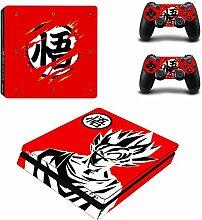 YISHO PS4 Slim Skin Aufkleber für PlayStation 4