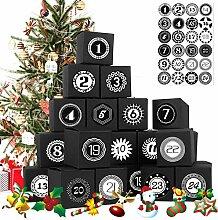 Yisscen Weihnachten Geschenkboxen, mit 24