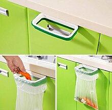 Yistu Stand Papierkorb Tasche Clip Müll Speicher-rack-Küche hängenden Küche Schrank Tür hinten Müll Eimer, den Mülleimer