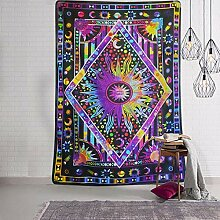 YISUMEI 230x150 cm Tapisserie Purple Bohemian