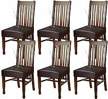 YISUN 4er/6er Set Esszimmer Stuhl Sitzbezug,