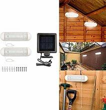 Yiwa für Zuhause Korridor Treppen Split Typ 5 LED Solar Licht Pack von 2 Solarbetriebene Nacht Lampe Outdoor Garten Lichter
