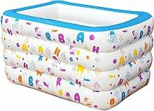 YIWANGO Aufblasbarer Pool PVC Baby Pool Baby