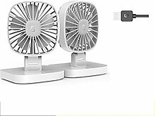 YIWU USB 12V Auto Lüfter Klimaanlage Kühler