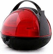 YIXIN Ätherischer Öl-Diffusor 4L Aromatherapie-Diffusoren / Befeuchter (Knopfschalter, Sterilisation, Nebelsteuerung, Ultraschall-Zerstäubung, wasserlose Autoabschaltung) - Lichtkorn-Gesundheit und Energieeinsparung 5 Farben zur Auswahl ( Farbe : Rot )