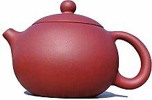 Yixing Teekanne handgefertigt Tee Topf, natur Ton,
