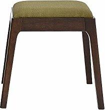 YIXINY Deckchair Holzstuhl Stoff Holzfarbe,
