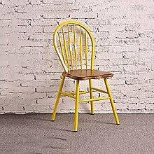 YIXINY Deckchair Stuhl Holz 46CM * 46CM * 88CM Rot