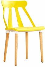 YIXINY Deckchair Stuhl Kunststoff + Holz + Metall