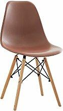 YIXINY Deckchair Stuhl PP + Holz + Metall 50cm *