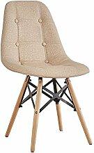 YIXINY Deckchair Stuhl PU + Holz + Metall 50cm *