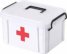 YiYaa Ablageboxen Tragbare Erste-Hilfe-Box