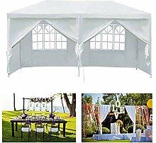 Yiyai Partyzelt Gartenpavillon mit Seitenteilen