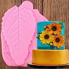 YIYAO Blätter Silikon -Form -Kuchen,