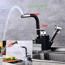 YIYIBY 360° Ausziehbar KüChenarmatur Wasserhahn
