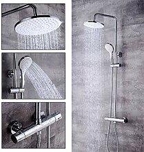 YIYIBY Thermostat Duschsystem Duschpaneel Duschset