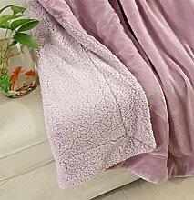 Yiyida Wolldecke Decke Felldecke für Zuhause,