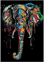 yiyitop Abstrakte Graffiti-Kunstfarbe Elefant
