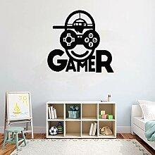 yiyitop Spieler Vinyl wandtattoo PS4 Videospiel