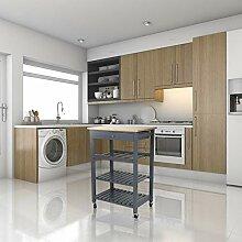 YIZHE Servierwagen,Möbel Küchenwagen mit
