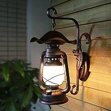 YJ&Lighting Home Antik Loft Lichtgang Wandlampe