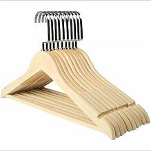 YJei Garderobenständer aus Hochwertigem Holz,