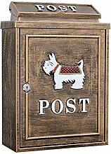YJLGRYF Briefkasten Mailbox Vintage Brief Zeitung