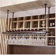 YJPDPHJJ Bar Weinregal, Weinregal, hängendes Bar