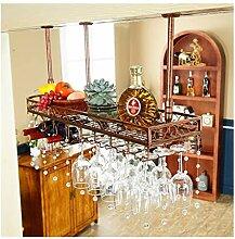 YJPDPHJJ Wein Tasse Rack Bar Weinglas Rack