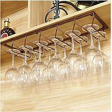 YJPDPHJJ Weinregal Europäische Eisen Wein Glas