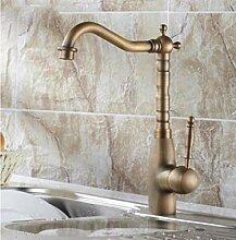 yjsb Antike Kupfer Bad Waschbecken Küchenspüle