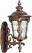 YJWALL Wandbeleuchtung Wandlampe Europäischer