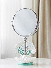 YJWOZ Makeup Kleiner Spiegel, Spiegel Falttisch
