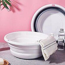 YJXTYP Faltbares Waschbecken aus Kunststoff für
