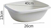 YJXTYP Waschbecken für Erwachsene, Kunststoff,