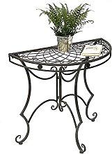 YJYDD konsolentisch Tisch Halbrund Wandtisch