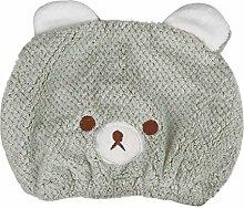 YJZQ Baby-Duschhaube, Mikrofaser, niedlicher Bär,