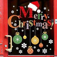 YKLOPI Dicor Kreative Frohe Weihnachten Bunte